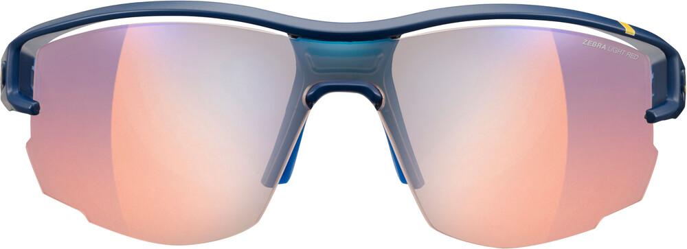 Julbo Aero Zebra Light Red Sunglasses Dark Blue/Blue/Yellow-Multilayer Blue 2018 Sonnenbrillen f6sCFTJS